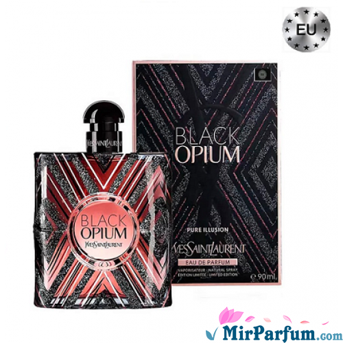 Black Opium Pure Illusion Yves Saint Laurent EDP 90 ml (EU)